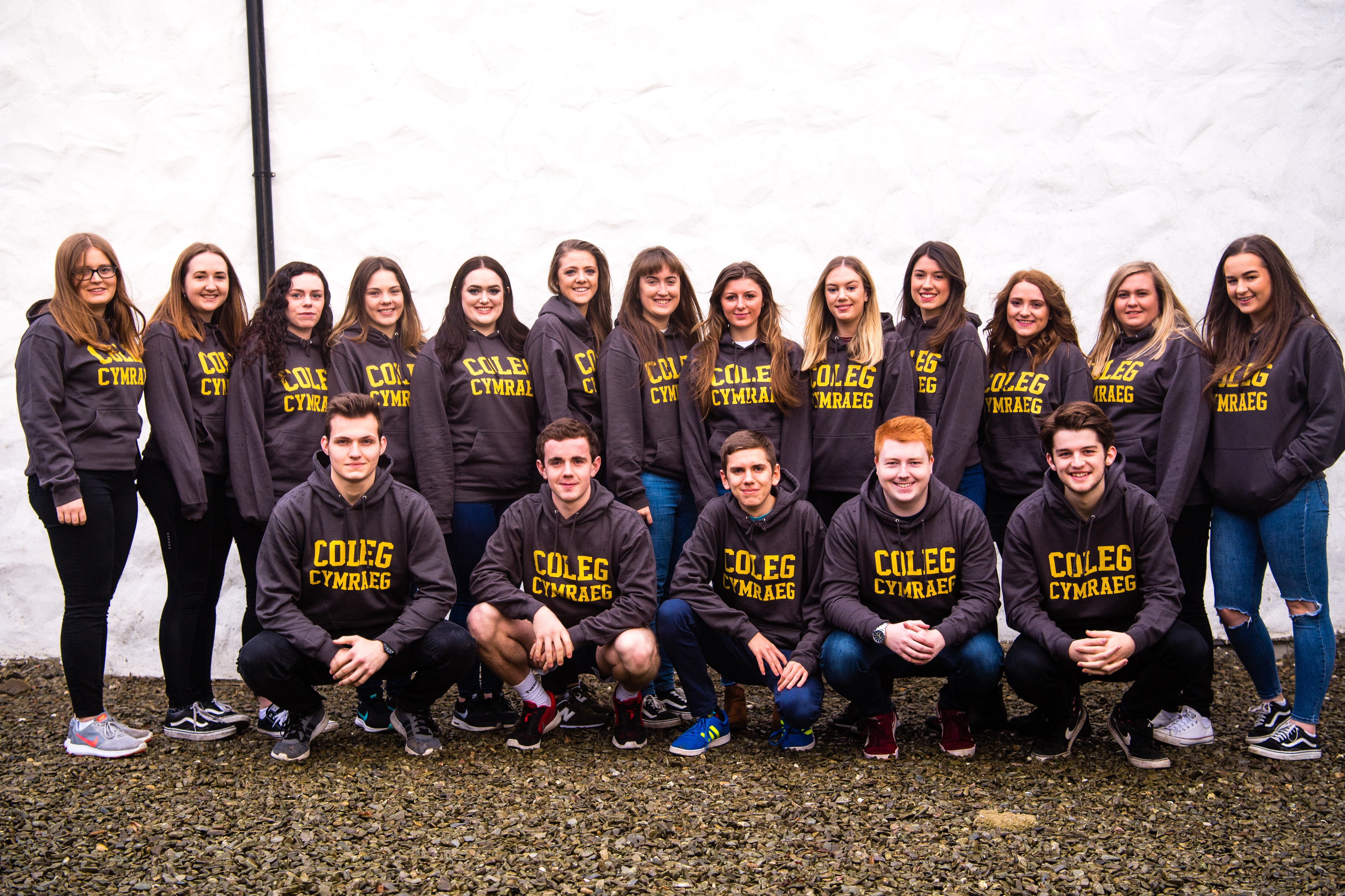 Student Ambassadors Appointed to champion studying through the medium of Welsh